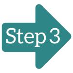 Step 3 arrow